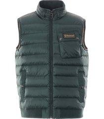 belstaff streamline puffer vest | pine | 50n0638-20119