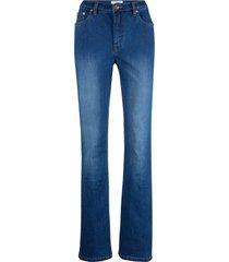 jeans elasticizzati bootcut maite kelly (blu) - bpc bonprix collection