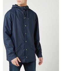 rains men's jacket - blue - m-l