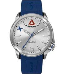reloj flashline plateado reebok