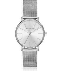 armani exchange designer women's watches, lola stainless steel mesh women's watch