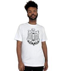 camiseta ventura anchor bones branco - kanui