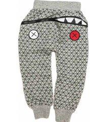 spodnie hungry one serious grey baby