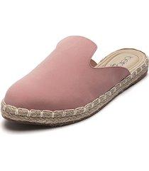 slipper rosa-beige beira rio