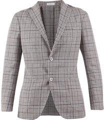 linen and virgin wool blend jacket