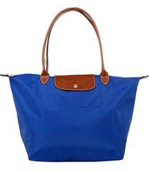 bolsa de hombro plegable bolso 1899089 para mujer-azul