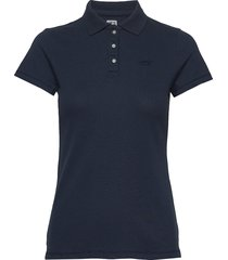 core polo t-shirts & tops polos blå hollister