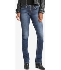 silver jeans co. suki curvy-fit bootcut jeans