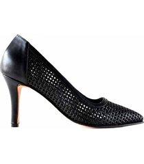 zapato negro briganti adelfa