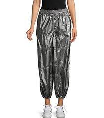 mirror ball track pants