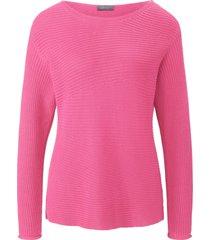 trui lange mouwen en boothals van mybc roze