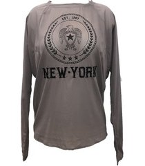blouse charlie joe top new york est 1967 taupe