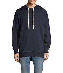 drawstring cotton hoodie