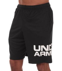 mens ua tech wordmark shorts
