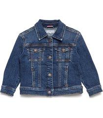 over d trucker fo outerwear jackets & coats denim & corduroy blauw tommy hilfiger
