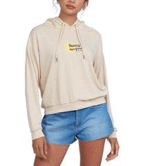 roxy juniors' quick dip c hoodie