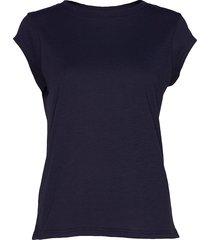 basic tee t-shirts & tops short-sleeved blå coster copenhagen