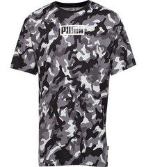 rebel camo tee t-shirts short-sleeved grå puma
