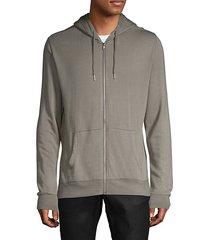 brick long-sleeve hoodie
