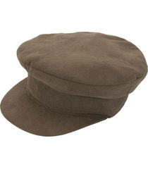 hermès pre-owned newsboy cap - green