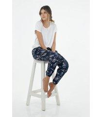 conjunto pijama para mujer topmark, con estampado