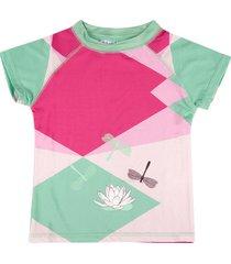 t-shirt plażowy z filtrem uv 50+ renee