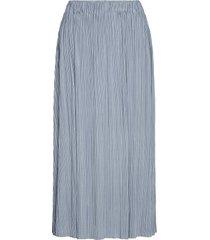 uma skirt 10167 knälång kjol blå samsøe samsøe