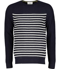 new in town pullover - slim fit - blauw