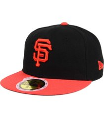 new era kids' san francisco giants authentic collection 59fifty cap