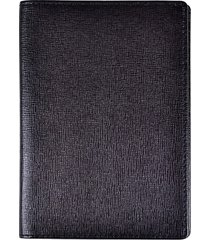 royce new york leather passport travel wallet