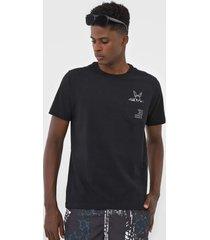 camiseta wg coelho cool preta - kanui