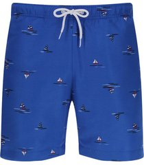 pantalóneta de baño veleros color azul, talla m