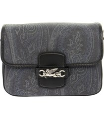 etro paisley shoulder bag with pegaso