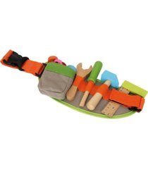 legler usa small foot wooden toys tool belt and accessories adjustable playset