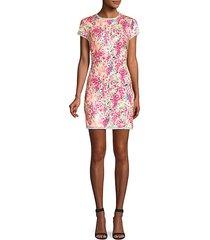 lili multicolor sequin mini dress