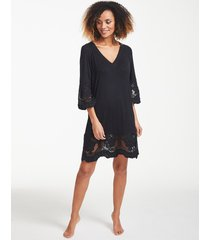 dione embroidered trim tunic