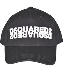 dsquared2 dean & dan embroidered cap