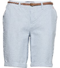 chino city short bermudashorts shorts blå superdry
