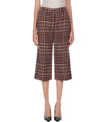 faberge & roches 3/4-length shorts