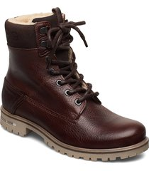 kenna hgh tmb w shoes boots ankle boots ankle boots flat heel brun björn borg