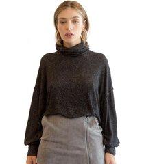 sweater relax negro racaventura