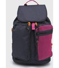 mochila violeta converse rucksack