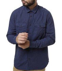 camisa manga longa urban city masculina