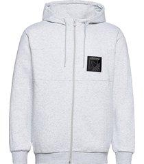 sprt icon fzh hoodie trui grijs adidas originals