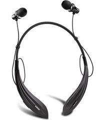 audífonos bluetooth, a810bl auriculares inalámbricos audifonos bluetooth manos libres  super bass auriculares cuello (negro)