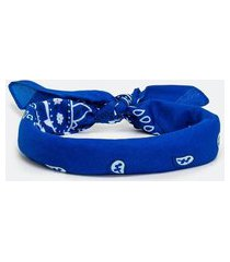 bandana estampada | accessories | azul | u