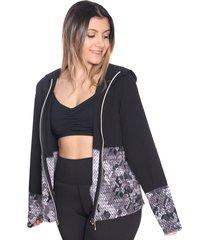 chaqueta deportiva mujer camuflada negra arequipe