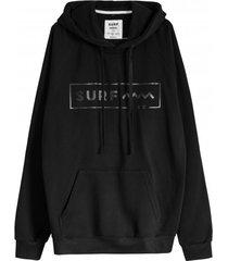 bluza classy hoodie black/black