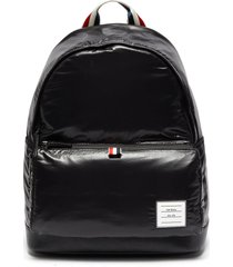 ripstop leather backpack