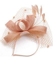 banquete de bodas boda con sombrero de señora sombrero hecho a mano